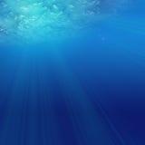 sous l'eau Images stock