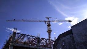 sous la construction photo stock