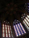 Sous la coupole de la cathédrale d'Ely images stock
