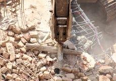 Sous la destruction Photo libre de droits