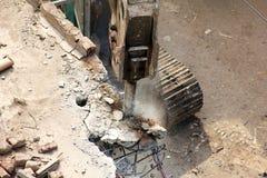 Sous la destruction Photos stock