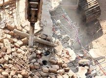 Sous la destruction Photographie stock libre de droits