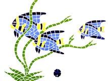 Sous la mosaïque de mer Photo libre de droits