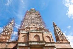 Sous la pagoda de contractions Image libre de droits