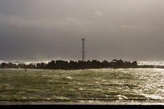 Sous la tempête Image libre de droits