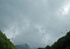 Sous le ciel Photo libre de droits