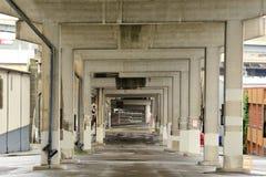 Sous le pont Photo libre de droits