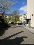 Sous le ` s Sun de ville de Recklinghausen Photo stock