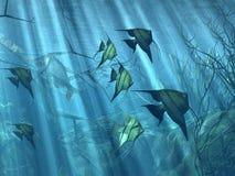 Sous-marin illustration de vecteur
