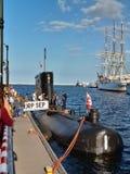 Sous-marin conventionnel polonais Images stock
