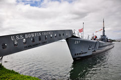 Sous-marin d'USS Bowfin Photographie stock