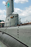 Sous-marin de Torsk d'USS dans le port intérieur de Baltimore Images stock