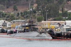 Sous-marins navals Photos libres de droits