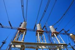 Sous-station électrique Photo stock