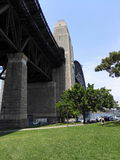 Sous Sydney Harbour Bridge Photo libre de droits