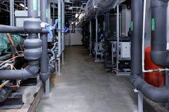 Sous-système de purification de l'air sur l'usine de Solopharm photos libres de droits