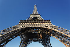 Sous Tour Eiffel Photo stock