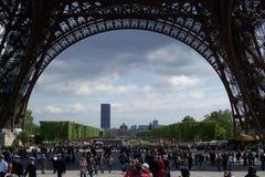 sous Tour Eiffel Photo libre de droits