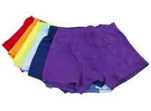 Sous-vêtements mâles Images stock
