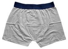 Sous-vêtements masculins - blanc photos libres de droits