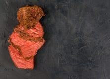 Sous-vide beef steak Stock Images
