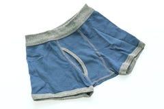 Sous-vêtements courts pour l'enfant et le garçon Photographie stock