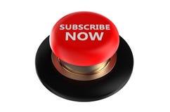 souscrivez maintenant le bouton poussoir Image libre de droits
