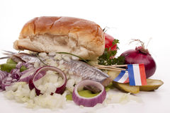 SOUSED HERRING royalty free stock photos