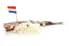 SOUSED HERRING Stock Photo