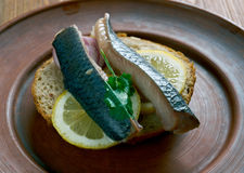 Soused herring Royalty Free Stock Photography