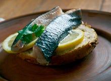 Soused herring Stock Image