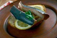 Soused herring Stock Photo