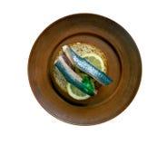 Soused herring Stock Photos