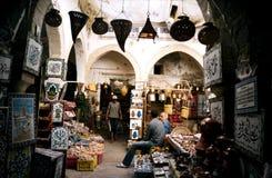 Sousse Markt. Tunesien lizenzfreie stockbilder