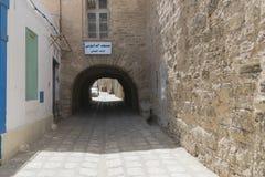 Sousse medina royaltyfri fotografi