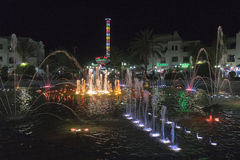 Sousse by night Stock Photo
