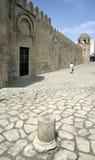 Sousse-Tunesië-moskee Stock Afbeelding