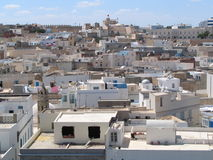 Sousse (Tunisia). Panorama of the old town in Sousse, Tunisia stock photos
