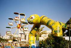 Sousse, Tunisia. Hannibal park. Attractions park Hannibal in Sousse, Tunisia royalty free stock photos