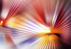 Soustrayez le fond coloré avec la lumière et avez croisé des lignes des rayons et des ombres s'étendant dans différentes directio illustration libre de droits