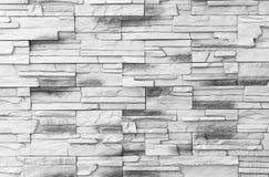 Soustrayez le vieux stuc souillé par texture superficiel par les agents gris-clair et avez vieilli le fond blanc de mur de brique Image stock