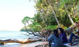 Sousu beach wakatobi island, Indonesia. Enjoy the beauty of the sea beach sousu island wakatobi, indonesia Royalty Free Stock Photography