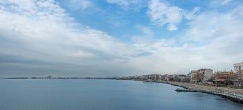 Sout wybrzeża miasta panorama Zdjęcie Stock