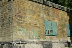 Soute d'Hitler dans Margival, l'Aisne, Picardie dans le nord des Frances images stock