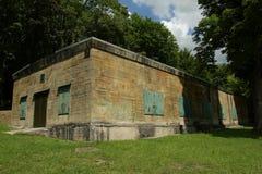 Soute d'Hitler dans Margival, l'Aisne, Picardie dans le nord des Frances image stock