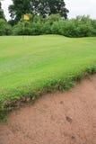 Soute de terrain de golf Photos stock