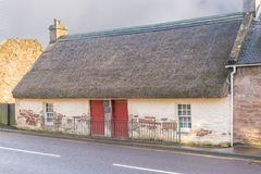 Souter Johnnie`s Cottage Kirkoswald Ayrshire Scotland Stock Images