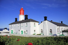Souter Lighthouse and Garden Royalty Free Stock Images