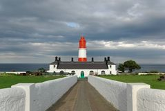 Souter Lighthouse at Lizard Point Royalty Free Stock Photos