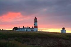 Souter lighthouse, UK. Stock Image